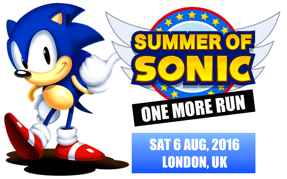 SUMMER OF SONIC 2016 FUNDED!