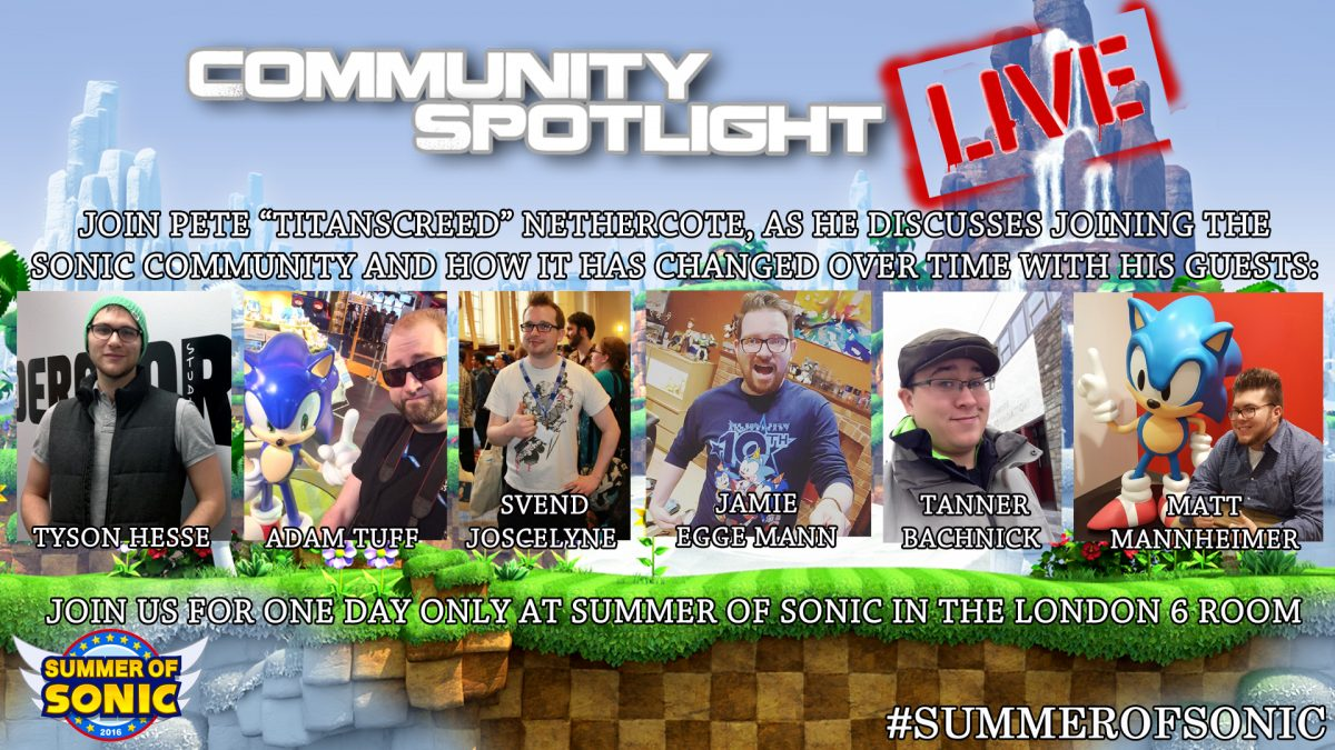 Event Announcement: Community Spotlight LIVE
