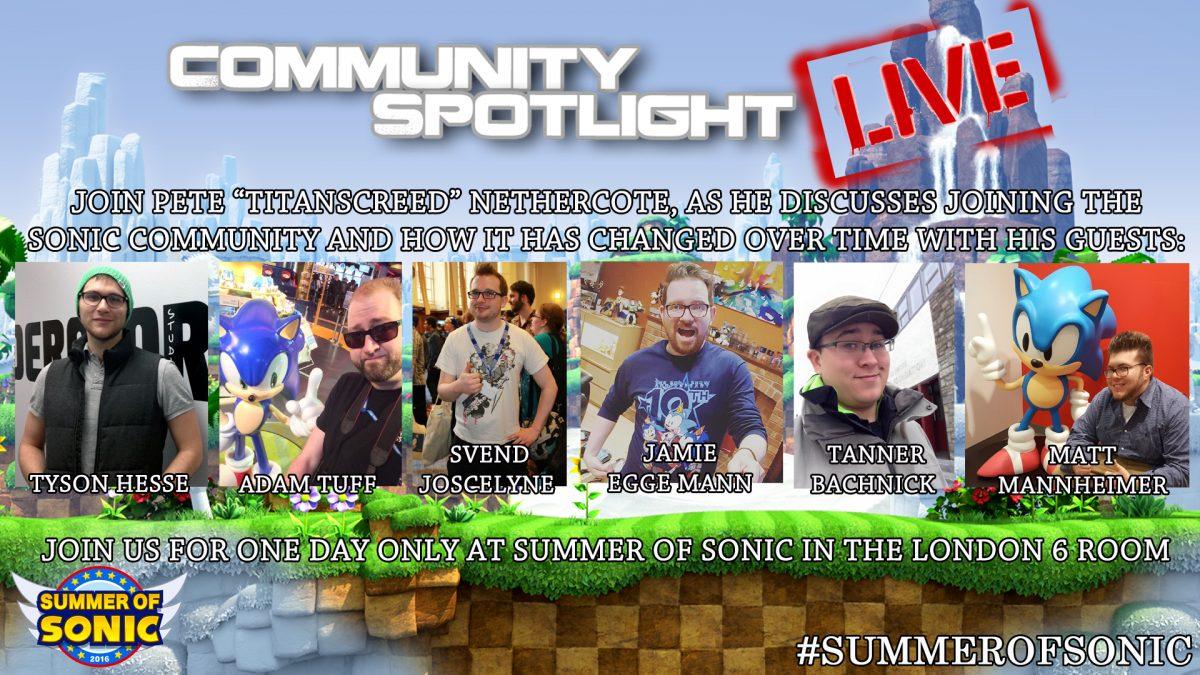 Event Announcement: Community Spotlight LIVE